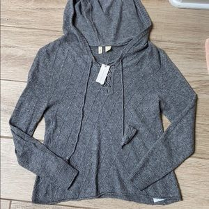 Moth hooded pullover Sweater